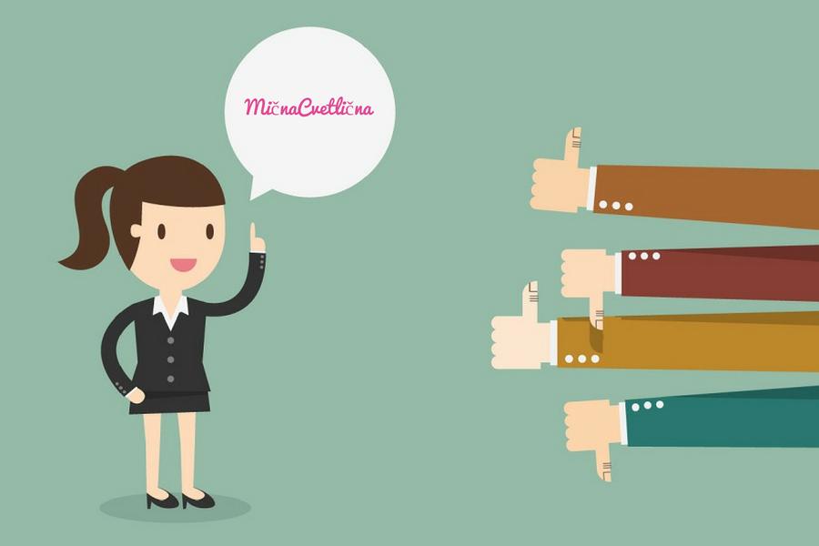 Kako sprejeti kritiko in dobronamerne nasvete